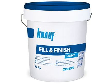 knauf fill finish light. Black Bedroom Furniture Sets. Home Design Ideas